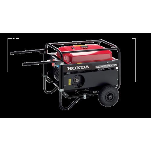 Generatore ECMT 7000 K1 mono/trifase avviamento manuale trolley